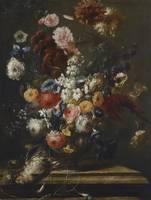 Franz Werner von Tamm, A STILL LIFE OF FLOWERS IN