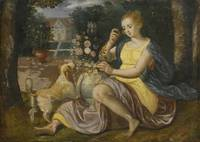 Follower of Maerten de Vos AN ALLEGORY OF SMELL; A