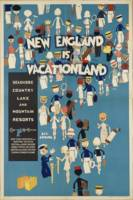 Vintage poster - New England