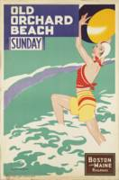 Vintage poster - Old Orchard Beach