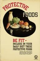 Vintage poster - Protective Foods