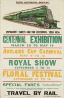 Vintage poster - South Australia Railways
