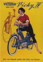 Vintage poster - Moped