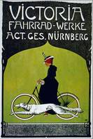 Vintage poster - Victoria Bicycles
