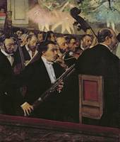EDGAR DEGAS (1834 - 1917) - THE OPERA ORCHESTRA