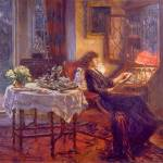 """Albert Chevallier Tayler - The Quiet Hour"" by motionage"