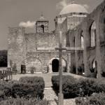 """""""Mission San Jose, Monochrome"""" by GordonBeck"""