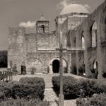 """Mission San Jose, Monochrome"" by GordonBeck"