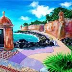 """Paceo La Princesa, Old San Juan Puerto Rico"" by galina"