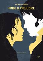 No584 My Pride and Prejudice minimal movie poster