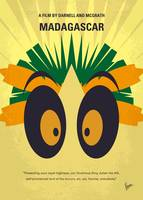 No589 My Madagascar minimal movie poster