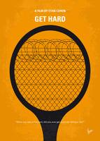 No594 My Get hard minimal movie poster