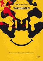 No599 My watchmen minimal movie poster