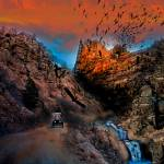 """The Birds of Window Rock enhanced"" by ColoradoArt"