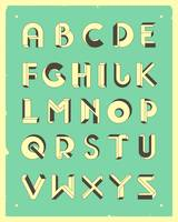 Impossible Alphabet - Blue