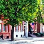 """Harrisburg PA - Quiet Harrisburg Street"" by susansartgallery"