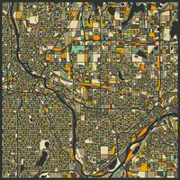 Twin Cities Map 2