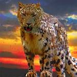 """Snow Leopard"" by frankreggio"