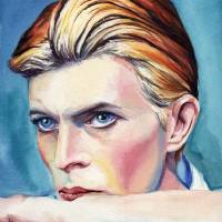 David Bowie Art Prints & Posters by Kelly Eddington