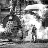 Savannah Central Locomotive Art Prints & Posters by Scott Hansen