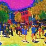 """""""Seattle Street Scene"""" by Kirtdtisdale"""