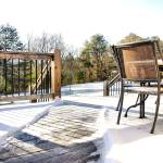 """snowy Tennessee country backyard"" by KCampbell"