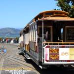 """San Francisco Cable Car at Fishermans Wharf 7D1409"" by wingsdomain"