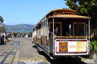 San Francisco Cable Car at Fishermans Wharf 7D1409