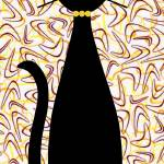 """Boomerang Cat in Yellow"" by DMibus"