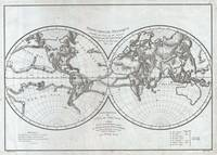Vintage Map of The World (1779)