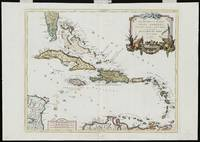 Vintage Map of The Caribbean (1779)