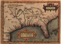 Vintage Spanish Map of Florida Discovery (1584)