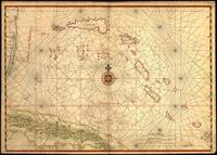 Vintage Map of The Bahamas (1650)