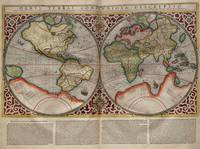 Vintage Map of The World (1587)