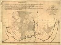 Vintage Map of The Mount Vernon Plantation (1801)