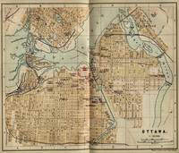 Vintage Map of Ottawa Canada (1894)