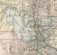 Vintage Map of Salt Lake City (1891)