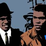 """MALCOM X AND CASSIUS CLAY"" by thegriffinpassant"