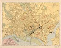 Vintage Map of Washington D.C. (1909)