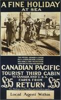 Vintage poster - Canadian Pacific