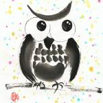 """Whimsical Owl"" by oystudio"