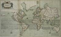Vintage Map of The World (1702) 2