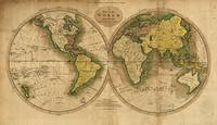 Vintage Map of The World (1795) 2