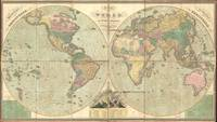 Vintage Map of The World (1826)