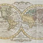 """Vintage Map of The World (1795)"" by Alleycatshirts"