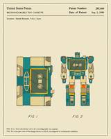 Reconfigurable Toy Cassette Patent