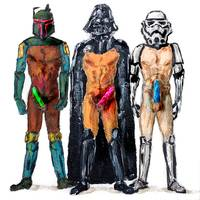 Star Whores Erotic Star Wars Darth Vader Boba Fett