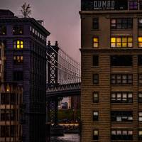 Evening In DUMBO