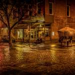 """Rain On The Cobblestones Of Greenwich Village"" by ChrisLord"