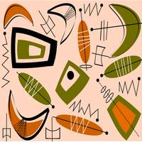 Mid-Century Modern Abstract